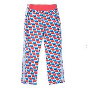Mokuyoki Knit Patterned Snap Pants